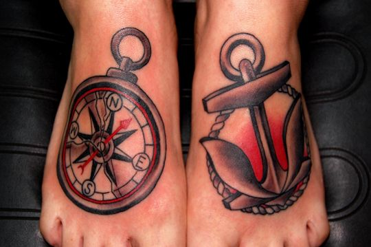 1000 images about compass tattoo on pinterest london for American anchor tattoo