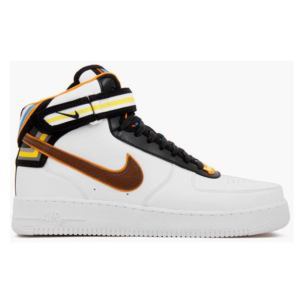 Riccardo Tisci x Nike Air Force 1 Mid SP RT Givenchy (677130-120)  ... ❤ liked on Polyvore featuring shoes, nike, air force one and sneakers