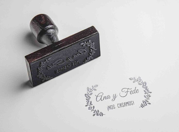 Sellos para bodas. #Bodas #Sellos #Invitaciones #Wedding #Stamp #Invitations