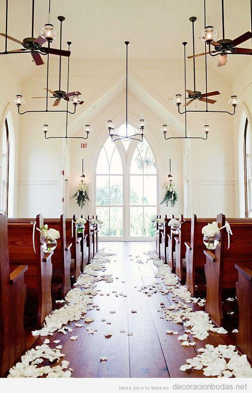 Decoracion Iglesia Boda Barata ~ Idea para decorar una iglesia para una boda More