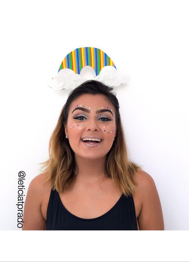 Fantasia de arcos Iris  #carnaval #carnival #fantasias #costume #arcoiris  #rainbow  #tiara #hairtiara #rainbowtiara #tiarademelancia #look #headband #rainbowcostume #fantasiadearcoiris #acessorios #acesssoriodecarnaval #accessories