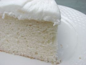 Heidi Bakes: My now favorite White Cake recipe | Almond flavored white cake, additions to a mix base