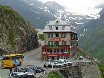 Reisebericht Alpen 2009