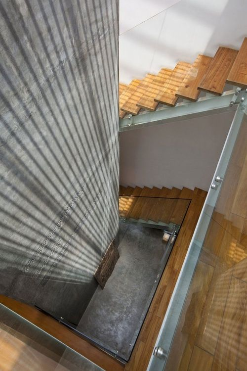 The Staircase At The M11 House by A21 Studio