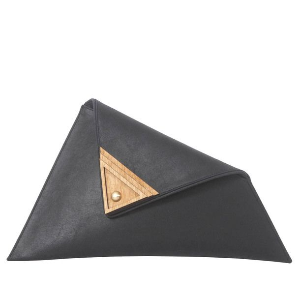 Large Asymmetric Clutch Black