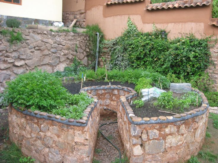 permaculture farming | Keyhole' raised-bed gardens are great ergonomic ease. From the center ...