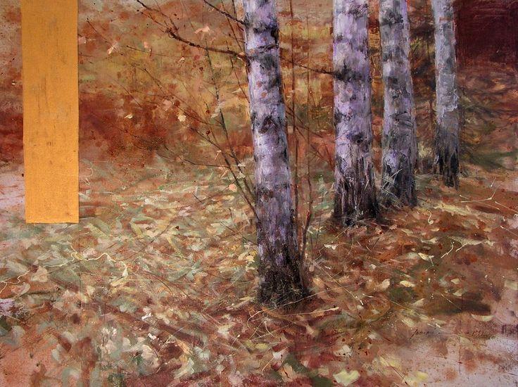 Muotisalonki: Metsä joka on elämys, maalasi Ilkka Lammi