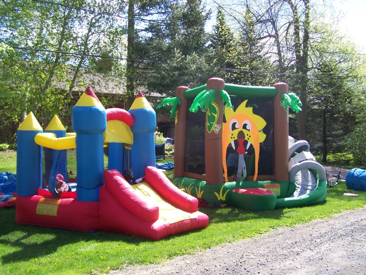 Inflatable Games Rental for Kids Parties