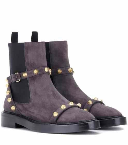 Giant suede Chelsea boots | Balenciaga