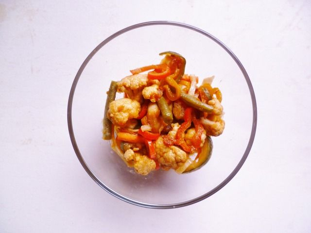 Indonesian acar campur (a spicy piccalilli) - GuardianWitness