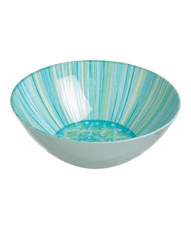 Look what I found on #zulily! Aqua & Teal Bowl #zulilyfinds