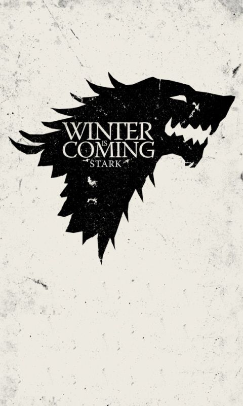 House Winterfell, Winter is Coming - Game of Thrones