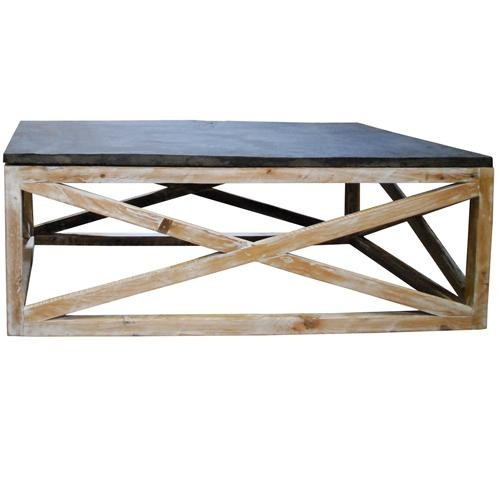 Base Slate Top Coffee Table Basement Game Table
