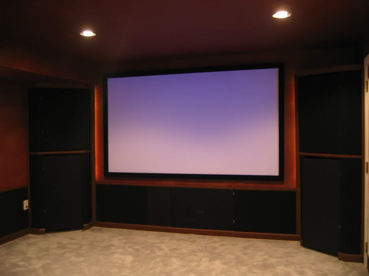 Show Us Your Screen Walls Page 2 Avs Forum Crown Moulding And Theatre Design Ideas