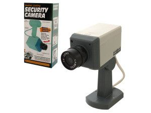 Mock Surveillance Camera http://minivideocam.com/wireless-camera-system-and-safety/