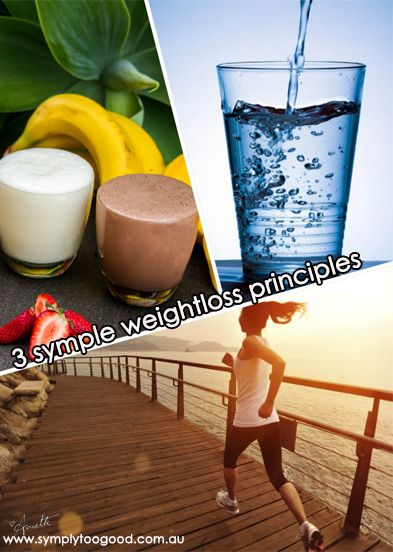 Back to #Basics people with your #weightloss 1. Eat #breakfast 2. Drink 8 glasses of #water a day 3. Get moving  Little things that make a BIG difference www.symplytoogood.com.au www.breakfastshakes.com.au