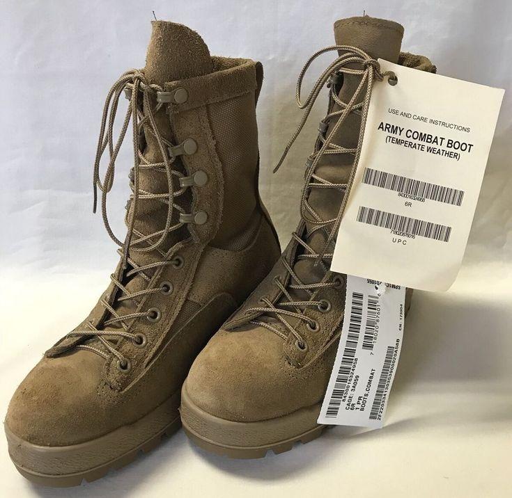 Mcrae Flight And Cvc Goretex Boots Coyote Brown Size 6 R Nwt Mcraeindustrial Military Boots Gore Tex Combat Boots
