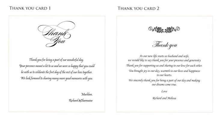 Best 25+ Thank You Card Wording Ideas On Pinterest