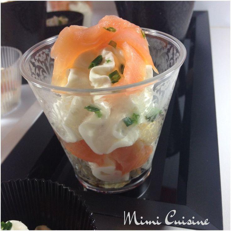 Verrines tiramisu saumon mousse mascarpone Recette Companion