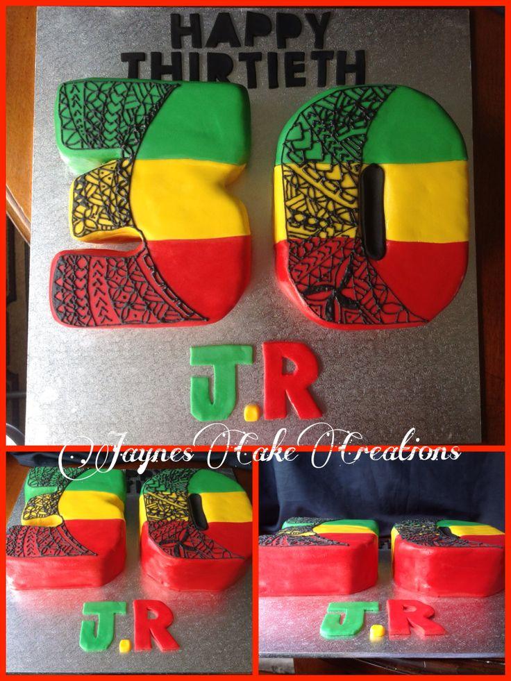 ..30TH BIRTHDAY CAKE RAGGAE STYLE.. ;D
