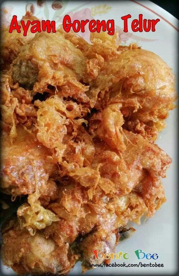 ☆ Ayam Goreng Telur ☆