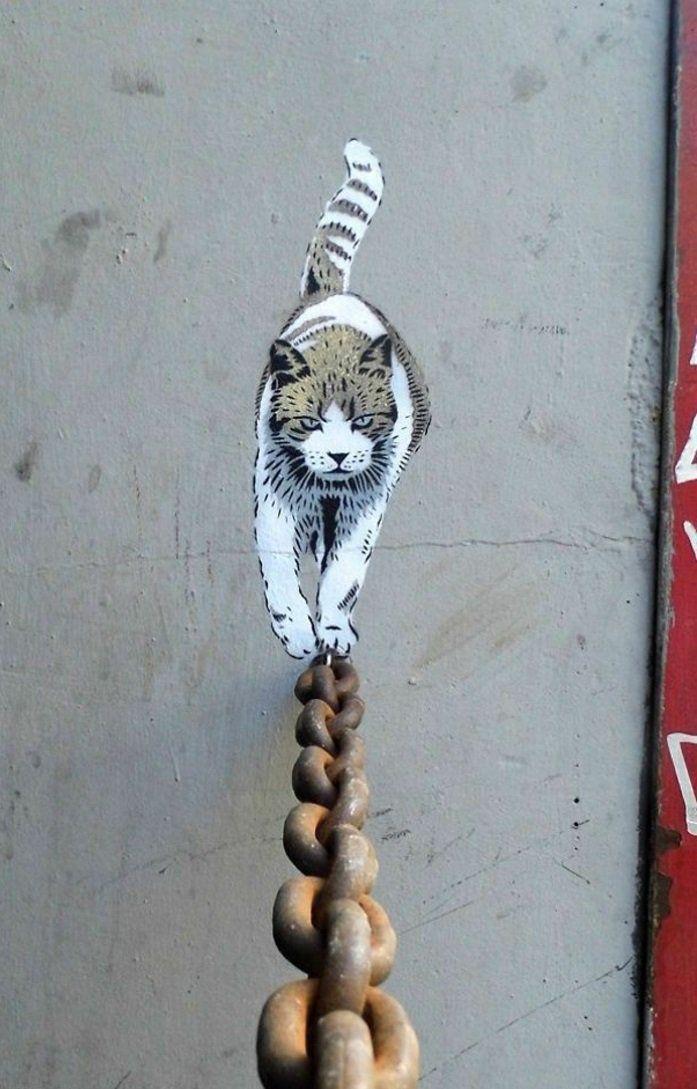 Graffiti pochoirs oeuvre d'art