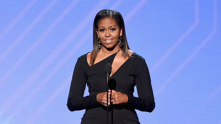 7:58 PM PDT 7/12/2017  by   Lauren Huff       The former first lady presented the Arthur Ashe Courage Award to Kennedy's son, Timothy Shriver, who chairs the Special Olympics.  Former first lady Michelle Obama posthumously honored Eunice Kennedy Shriver, who founded the Special... #Awards #ESPY #Eunice #Founder #Honors #Kennedy #Late #Michelle #Obama #Olympics #Shriver #Special