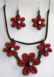 Image result for quilling jewellery