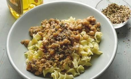 spinach and chickpeas tagliatelle with chickpeas recipes tagliatelle ...