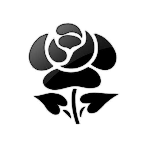 clip art black and white | Rose+Black+and+White+Clip+Art+8.png