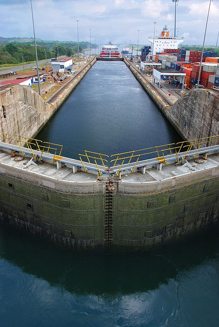 Locks at the Panama Canal
