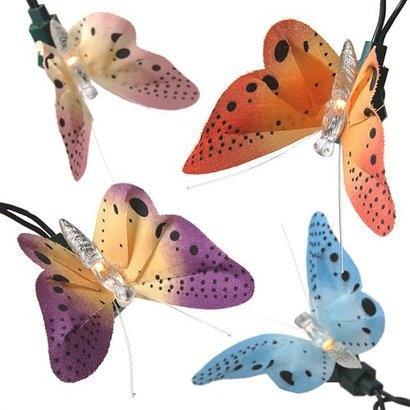 So pretty for a little girl's room. –10-String Fiberoptic Butterfly Strand.