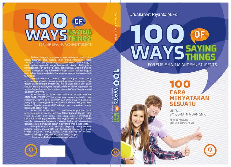 cover 100 WAYS OF SAYING THINGS_15,5 x 23cm  #pustaka pelajar #digiart-jogja