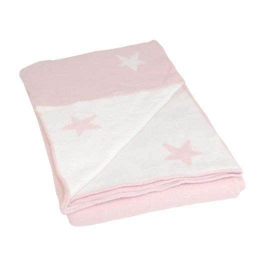 BLISS Sthlm - Filt Basic Star - Rosa