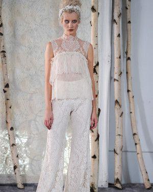 Straight from Bridal Fashion Week, Elizabeth Fillmore's latest designs.