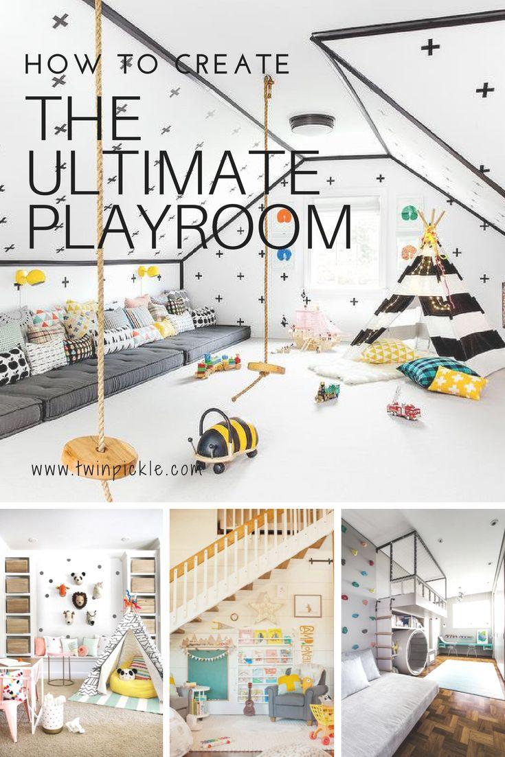 How to Create the Ultimate Playroomvandanabisht