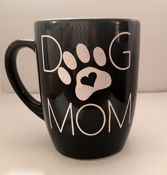DOG MOM coffee mug, mothers day gift, fur baby coffee cup