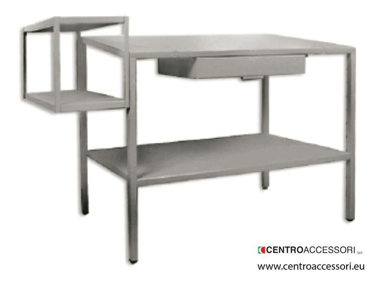 Tavolo calzolaio. Metal table for shoemaker #CentroAccessori