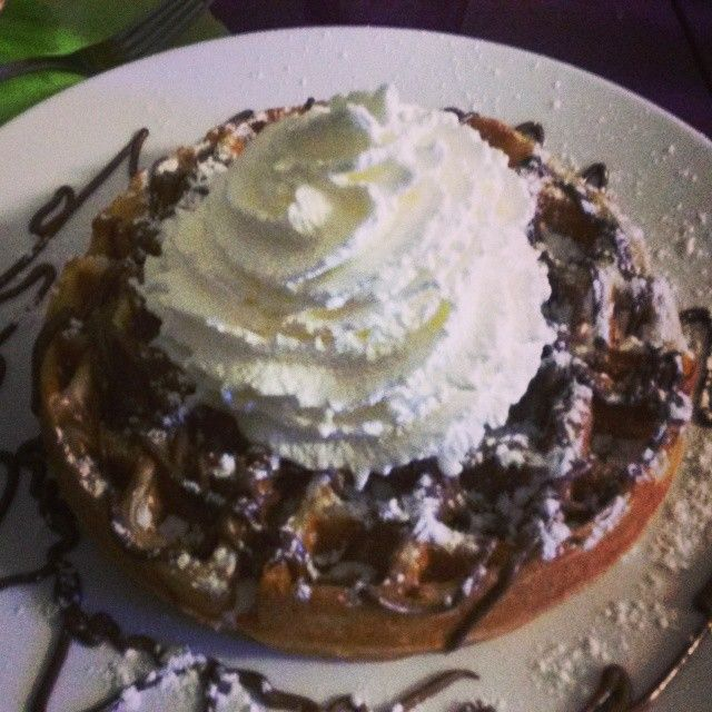 L'indémodable gaufre nutella chantilly. Choisirsongaufrier.fr