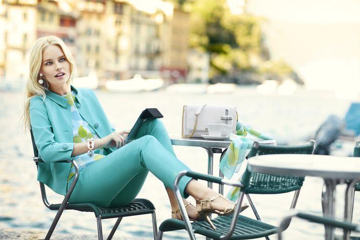 Luisa Spagnoli Spring Summer 2016 advertising campaign