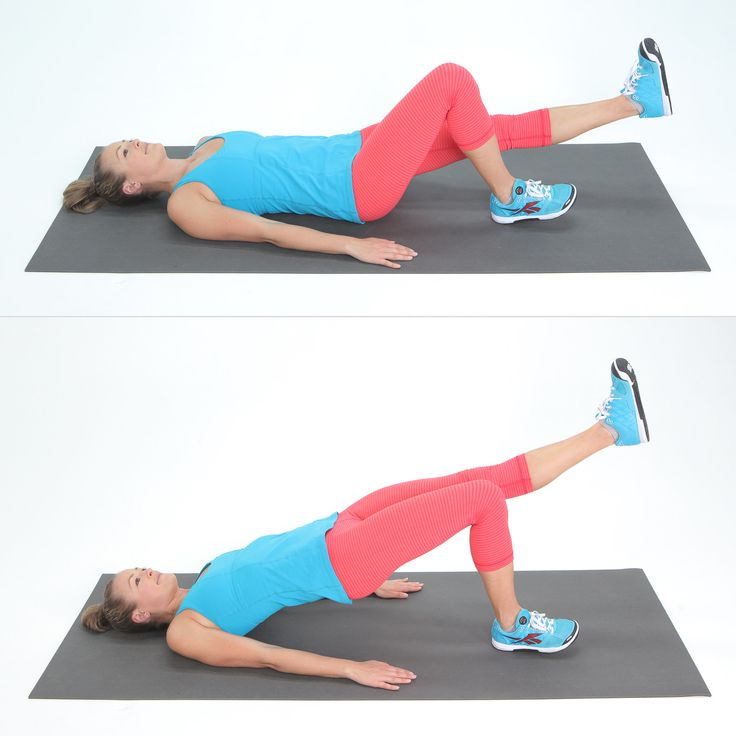 Leg and butt exercises