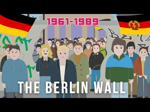The Berlin Wall (1961 - 1989) - YouTube