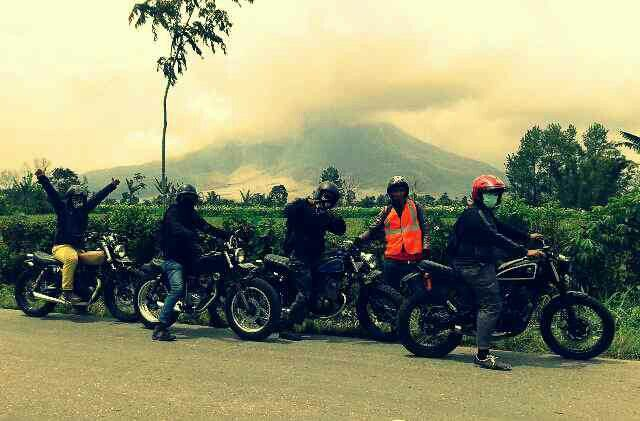 Adventure to sinabung