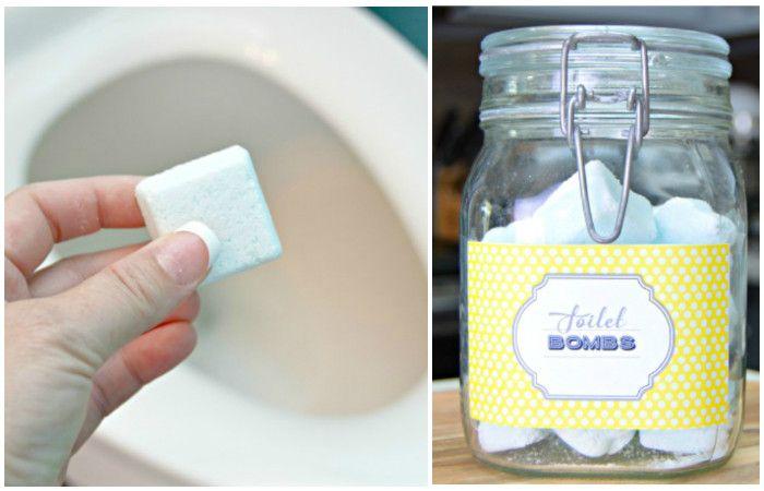 Как просто сделать «бомбы» для очистки и освежения туалета