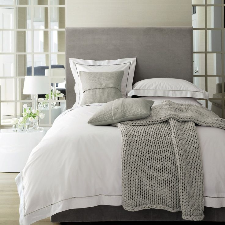 327 best images about bedroom on pinterest linens beige for Grey and neutral bedroom