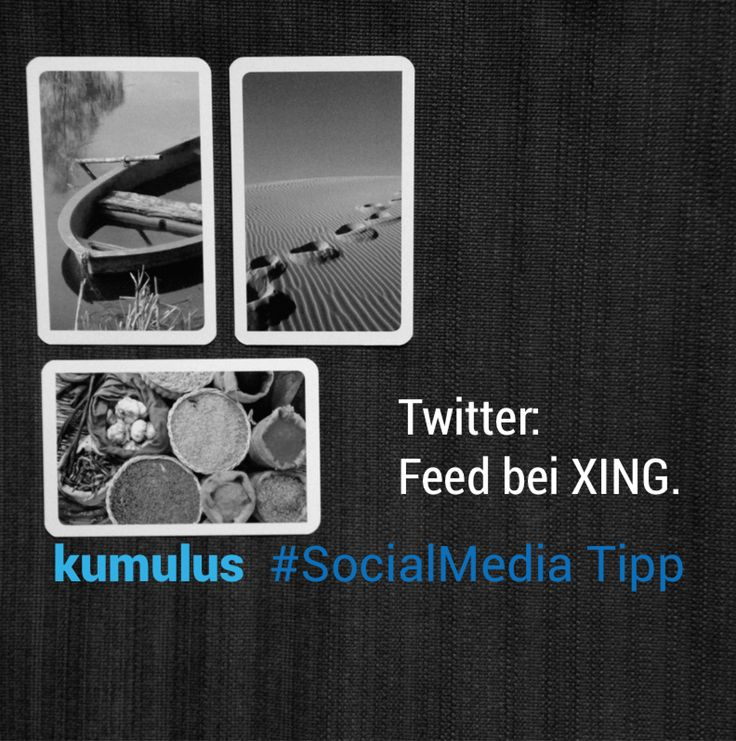 kumulus Social Media Tipp für Twitter