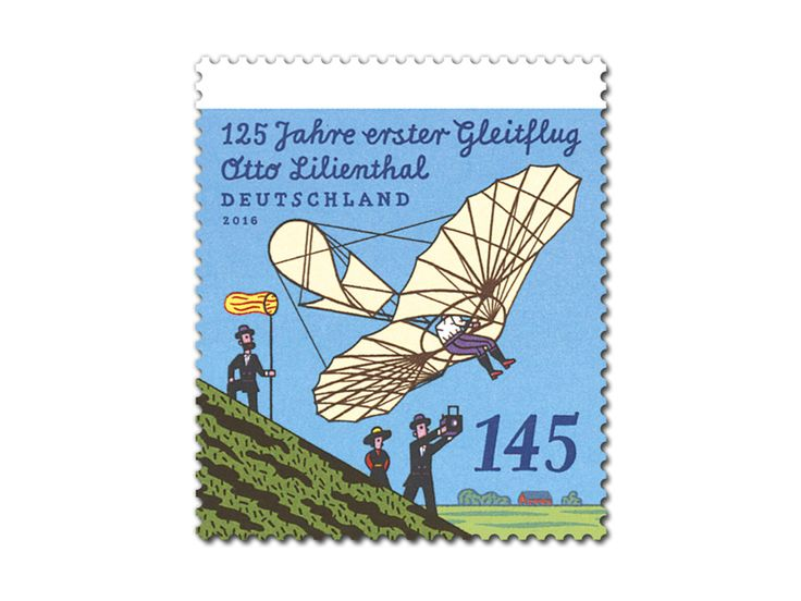 COLLECTORZPEDIA Otto Lilienthal - The First Glider 125th Anniversary