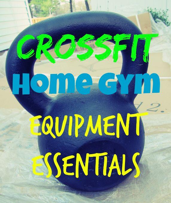 Crossfit home gym equipment essentials balance pt