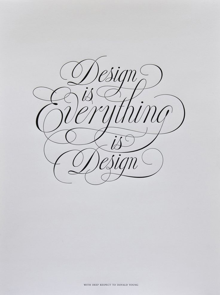 Everything is Design: Graphic Design, Inspiration, Quotes, Calligraphy, Jessica Hische, Typography, Type