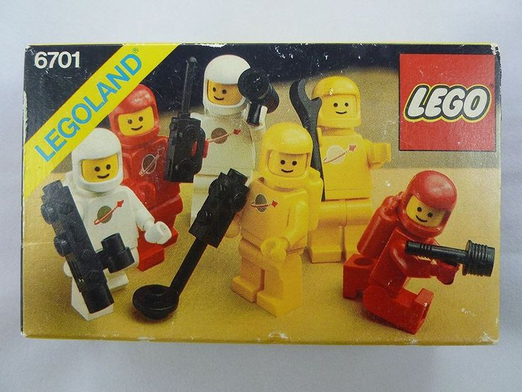 RARE New Lego Set 6701(6701-1)Classic Space Minifig Pack Action/Adventure-Sealed